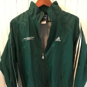 Adidas Spartans Classic UNC-Greensboro Windbreaker